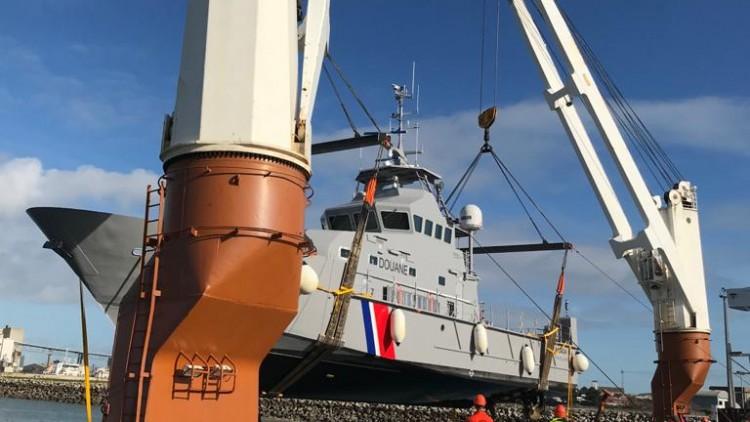 "Embarquement du ""Kaladja"" sur cargo"
