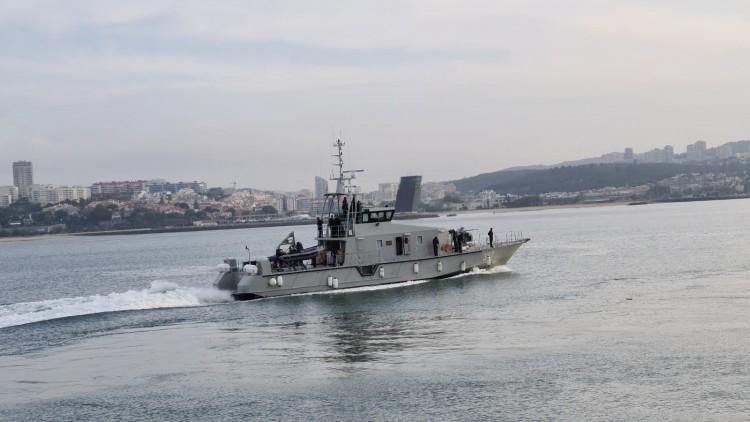 """Arrivée à Lisbonne des navires """"El Janah"""" et """"El Dhail"""""""