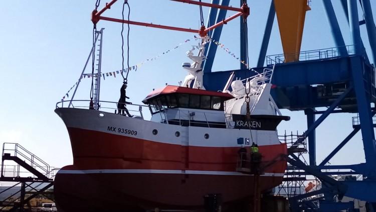 """Essais du navire """"Kraken"""""""