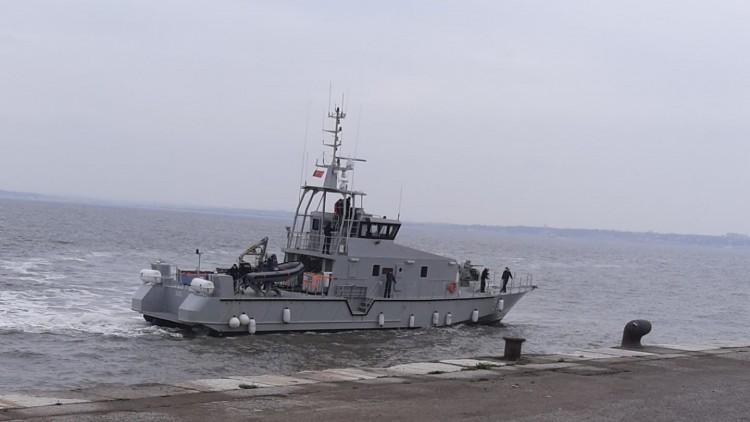 """Escale à Lisbonne des navires """"El Anka"""" et """"El Arkoub"""""""